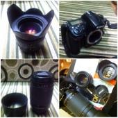 للبيع كاميرا نيكون D7000 مع عدستين ب2500