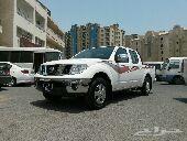 نيسان بيك اب نافارا اوتوماتيك موديل2014 دفع خلفي 4 سلندر خليجي من عمان