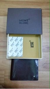 للبيع محفظه مونت بلانك جديده تم تنزيل الحد الى250
