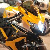 للبيع دباب سوزوكي 2008 مقاس 600 اللون اصفر