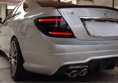 mercedes C63 Coupe Black series 2013  للبيع مرسيدس سي