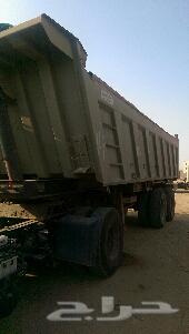 شاحنة مان مع التيدر