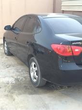 هيونداي إلنترا أسود 2011 نظيفة بدون صدمات .. للبيع