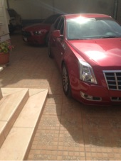 cadillac cts 2012 red color