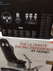كرسي سباق السيارات مع دركسون G27