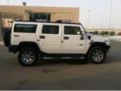همر H2 أبيض 2008 للبيع