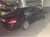 BMW 740 LI 2007  black