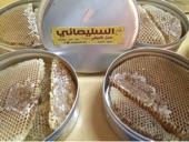 عسل طبيعي - شمع - غذاء ملكات - حبوب لقاح - طلع النخل - أثبت نفعه للإخوة والفضل لله وحده ( فيه شفاء ل