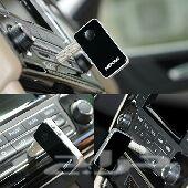 قطعة AUX اليي تربط صوت الجوال بالسياره عن طريق البلوتوث من دون أسلاك (وصلت القطع )