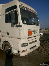 للبيع شاحنة مان 2004 مقاس 440 مع السطحة بحالة ممتاز