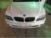 سيارة بي ام دبليو 2007 أبيض فل كامل نظيفة BMW 730 Li