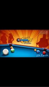 نقاط كوينز لعبة البلياردو 8pool ball