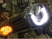 للبيع شمعاتFJ إف جي واصطبات اماميه وخلفيه LED