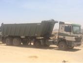 شاحنة قلاب للايجار