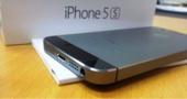 ايفون5s اللون رمادي نظيف جدا ولا خدش للبدل بسامسونج اس5