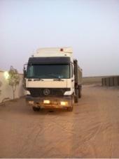 شاحنة قلاب اكترس مديل 2000 لبيع مع الصندوق