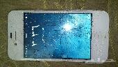 ايفون 4 مكسوره شاشته للبيع