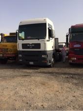 شاحنة مان 2006 مع سطحه للبيع او البدل بجيب او لكزس