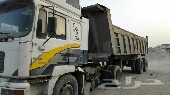 راس شاحنة   صندوق 24 متر للبيع