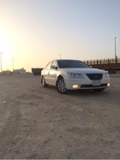 لبيع سياره سوناتا ابيض 2010