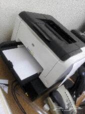 للبيع طابعه جديدة hp laserjet cp1025 color ليزر ملون