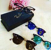 مجموعه رائعه من نظارات ايطاليه ماركة Ray-ban و Versace اصليه بأسعار مغريه
