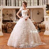 فساتين اعراس رائعة باسعار منافسة موديلات فرنسية جديد للبيع بالدمام