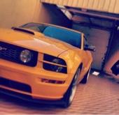 موستنغ GT 2007 اللون اصفر
