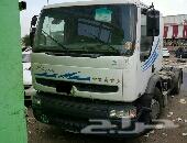 شاحنة رأس رينو موديل 2006 بطاقة جمركية حد 57 ألف ريال فقط