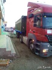 شاحنة مرسيدس قلابي جديدة وجاهزة للعمل