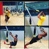 ما عندك وقت تروح الجيم حبل المقاومة يغنيك عن جميع الاجهزة الرياضية