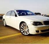 للبيع BMW 750 فل الفل خالي المشاكل نظيف جدا  مفتاحين الوكالة