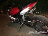 دباب ريس 600 سوزوكي احمر وابيض