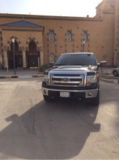 فورد وانيت غمارة ونص 2013 أسود سعودي
