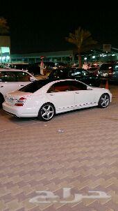بانوراما  جفالي 2009 أبيض S500 AMG  منوة المستخدم عداد 84000 كم.