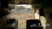 سيارة دينا متسوبيشي للبيع او الايجار الشهري مصندق نشاطها بليلة و ذرة و فشار  و كرسبي