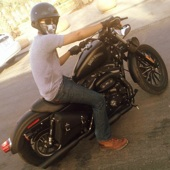 harley davidson sportster iron 2012 full accessories  - هارلي سبوستر ايرون 2012