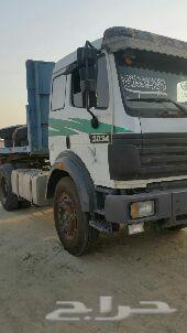 شاحنة95 لب قير عادي مع سطحة للبيع أو للاجار(بدون سائق )