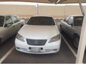 لكزس ES 350 أبيض لؤلؤي 2007